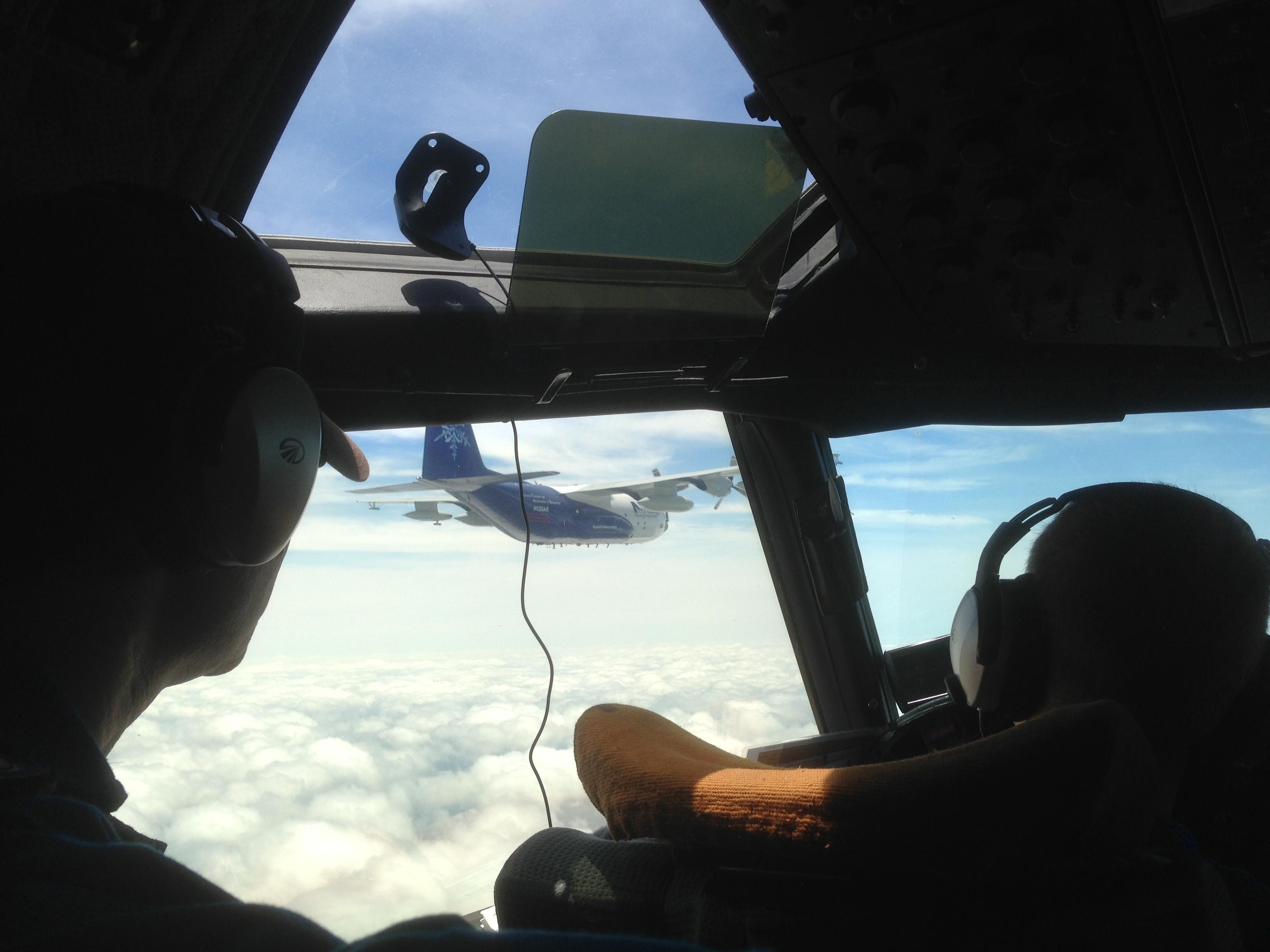 SENEX 2013 NCAR C-130 Intercomparison Photos